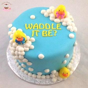 31+ Trendy Baby Shower Cake Ideas For Boys Simple Gender Reveal 31+ Trendy Baby Shower Cake Ideas F