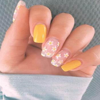 35 Hottest Yellow Acrylic Nail Designs For You - Summell Blog