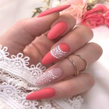 60+Trendy Gel Nails Designs Inspirations - Kylie High -