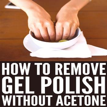 How to Remove Gel Polish at Home | Gel and shellac polish dries fast, doesn't chip, and lasts for 2