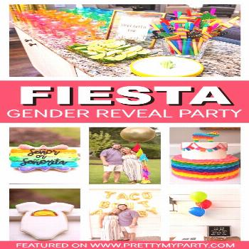 Taco Bout A Baby Gender Reveal Party - Pretty My Party - Party Ideas Taco Bout A Baby Fiesta Themed
