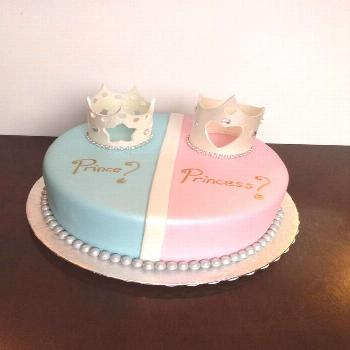 What better way to liven up a baby shower than to have unique gender reveal cakes? Check these ones