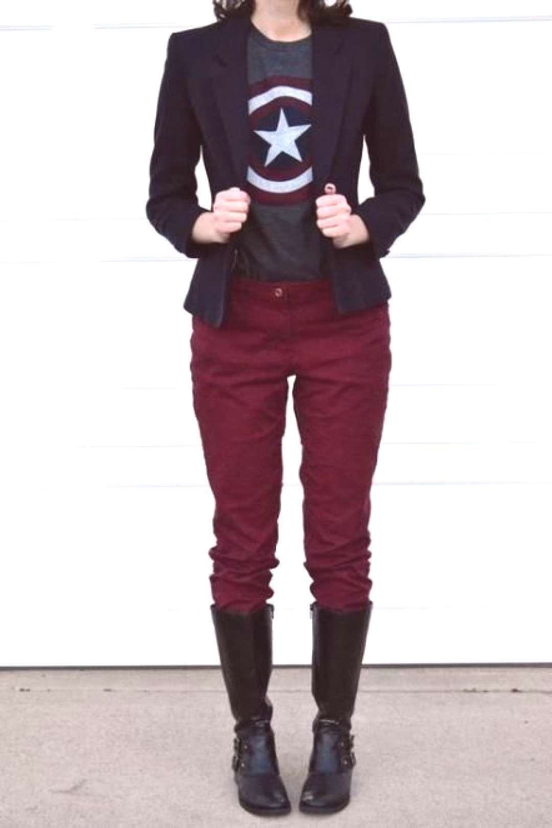 62+ Ideas Burgundy Rain Boats Outfit Skinny Jeans 62+ Ideas Burgundy Rain Boats Outfit Skinny Jeans