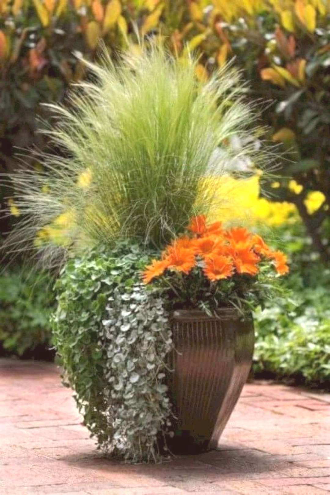 65 Stunning Fall Planters for Easy Garden Fall Decorations -  -  St... -  65 Stunning Fall Planters