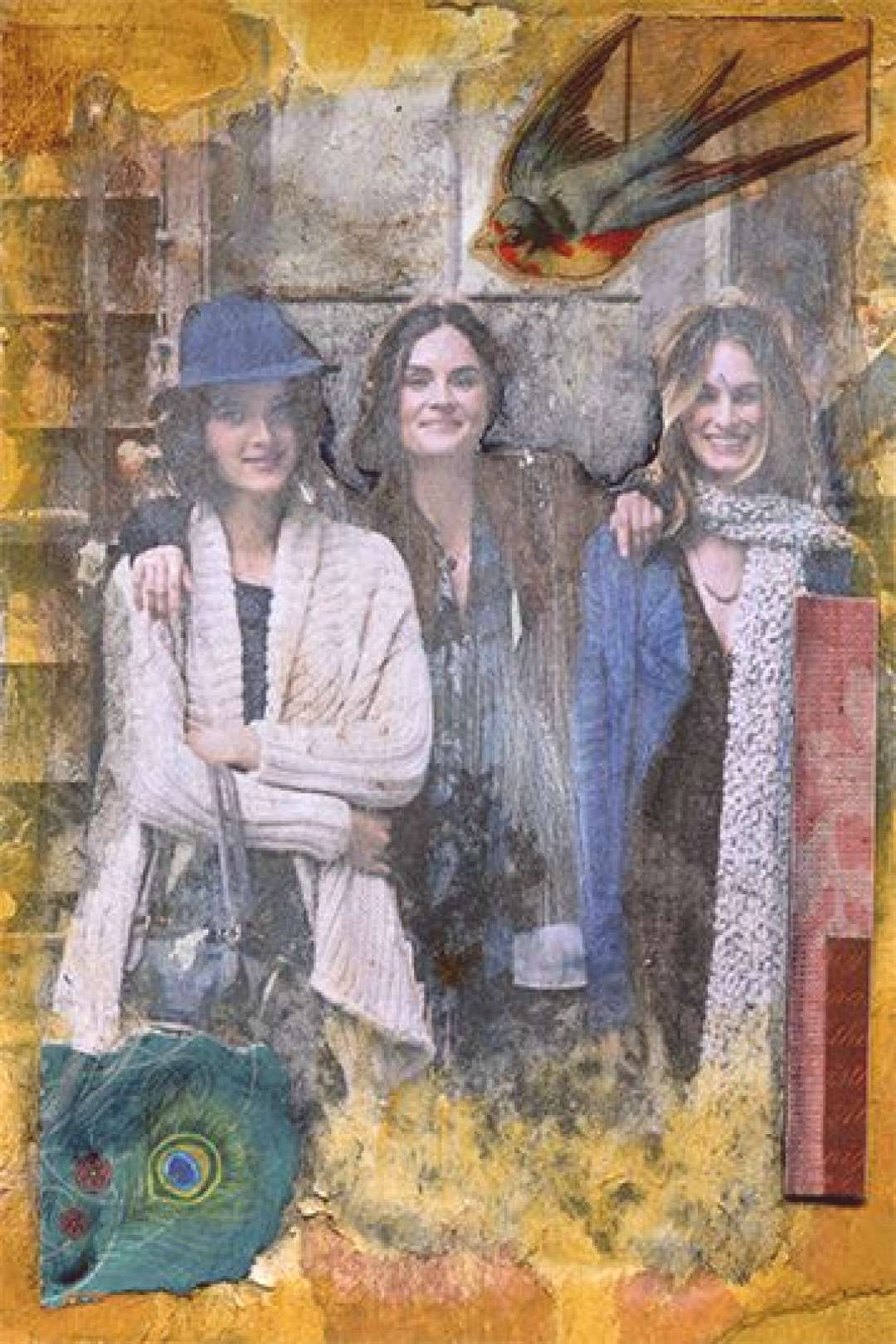 Collage Friends by Shellie Lewis, 5