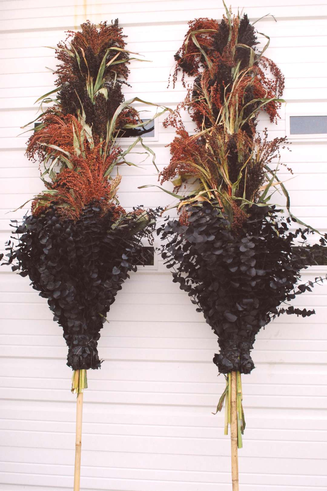 fall-centerpieces  Step by step tutorial on how to construct