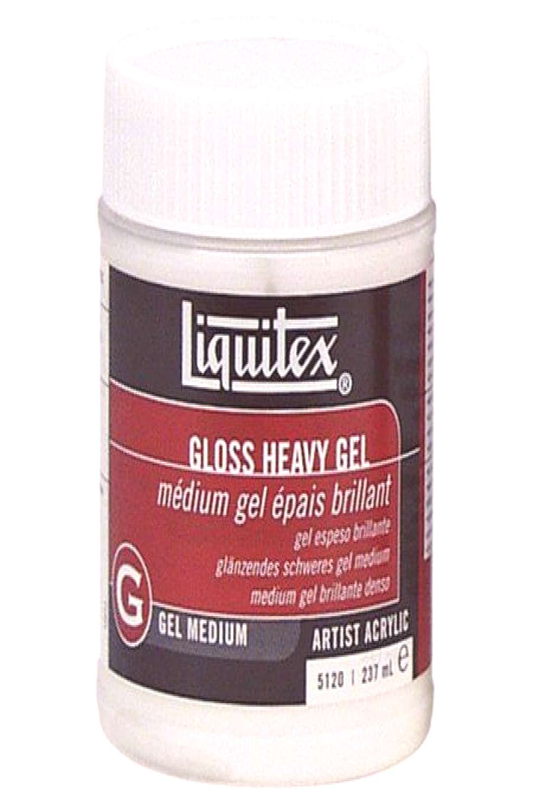 Liquitex Heavy Gel Medium, 8 oz., Clear