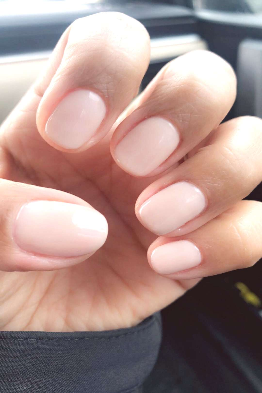 Natural nails~Opi Gel Polish Funny Bunny